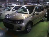Новые Лада Калина-2 на заводе ВАЗ