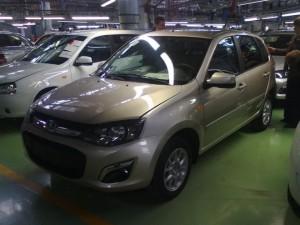 Новые Лада Калина-2 на заводе ВАЗ. Лада Калина 2 - новости, презентации, фото, видео