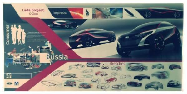 LADA C-Class, проект - в тройке призеров. Автомобили Лада Калина 2. Новости, описание, видео.