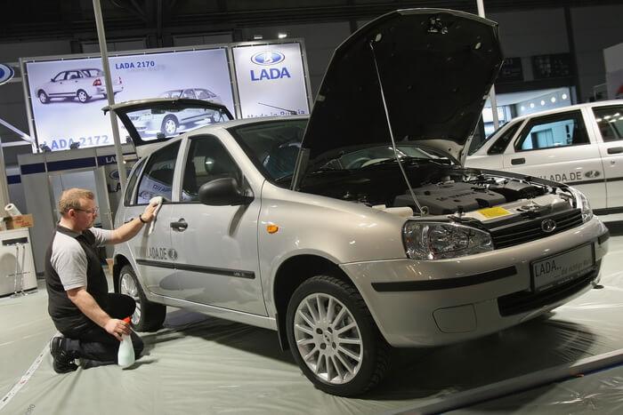 Лада Гранта + 100-сильный мотор. Автомобили Лада Калина 2. Новости, описание, видео.