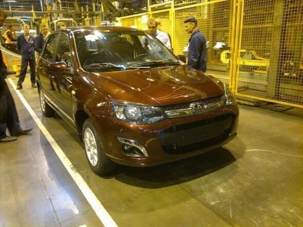 Калина-2 - заводская приемка. Автомобили Лада Калина 2. Новости, описание, видео.