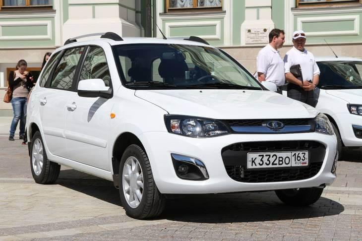 Универсал Калина-2. Автомобили Лада Калина 2. Новости, описание, видео.