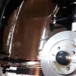 Результат антикор-обработки «Калины-2»