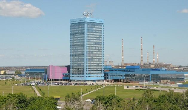 Здание завода ВАЗ в Тольятти. Автомобили Лада Калина 2. Новости, описание, видео.