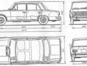 ВАЗ-2101, чертежи. Автомобили Лада Калина 2. Новости, описание, видео.