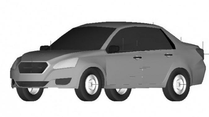 Эскизы, якобы принадлежащие компании Datsun. Автомобили Лада Калина 2. Новости, описание, видео.