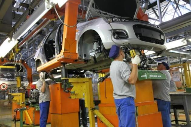 Линия сборки автомобилей Гранта и Калина-2. Автомобили Лада Калина 2. Новости, описание, видео.