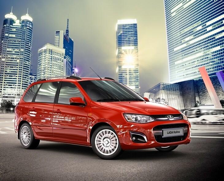Рекламное изображение автомобиля Калина-2 Люкс. Автомобили Лада Калина 2. Новости, описание, видео.