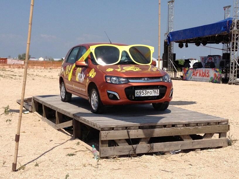 Хэтчбек Калина-2 Люкс, фестиваль AZOV Fest 2013. Автомобили Лада Калина 2. Новости, описание, видео.
