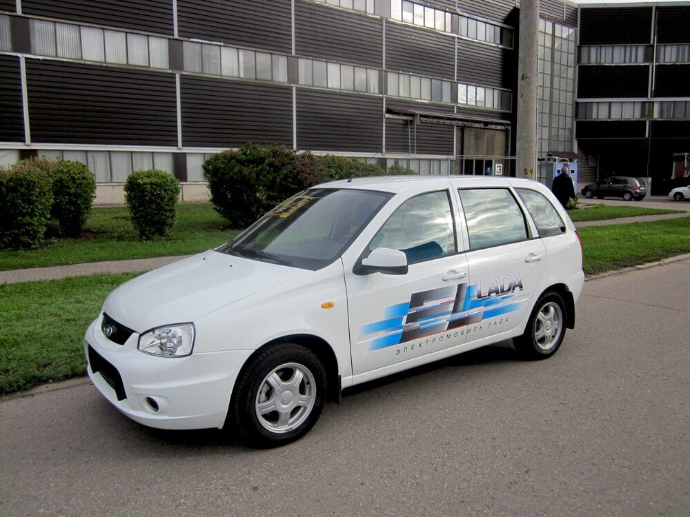 Универсал El Lada на улицах Тольятти. Автомобили Лада Калина 2. Новости, описание, видео.