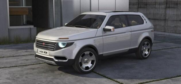 Так, согласно предположениям, выглядит новая Нива. Автомобили Лада Калина 2. Новости, описание, видео.
