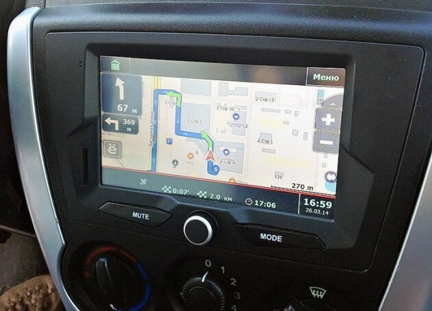 Магнитола Гранты с навигатором Сити Гид. Автомобили Лада Калина 2. Новости, описание, видео.
