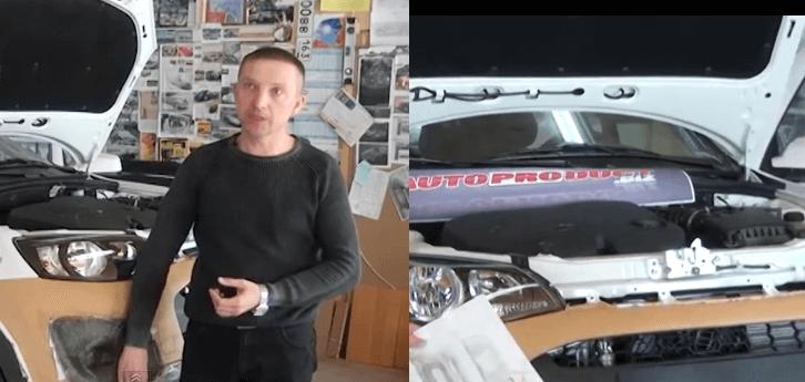 Калина-кросс и автор ее дизайна. Автомобили Лада Калина 2. Новости, описание, видео.