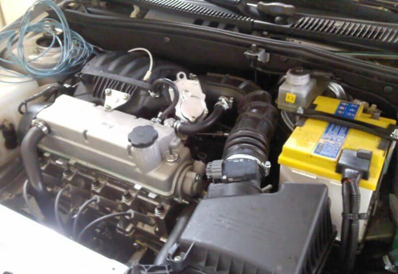 Двигатель ВАЗ-21116, 8-кл., 87 л.с. Автомобили Лада Калина 2. Новости, описание, видео.