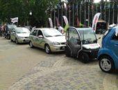 Экологический автопробег, электромобили EL LADA. Автомобили Лада Калина 2. Новости, описание, видео.