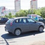 Хэтчбек mi-DO, похожий на «Калину-2», снова заметили в Тольятти