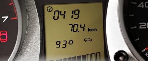 Температура охлаждающей жидкости на дисплее Granta/Kalina II. Автомобили Лада Калина 2. Новости, описание, видео.