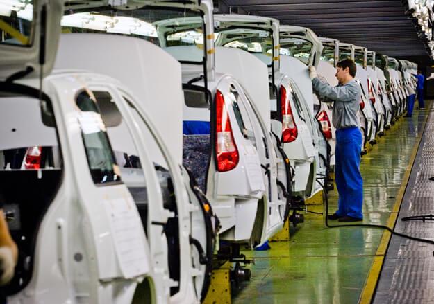 Сборка автомобилей Калина-2 и Гранта. Автомобили Лада Калина 2. Новости, описание, видео.