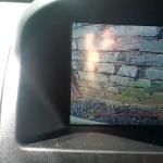 Работа камеры заднего вида в «Калине-2»
