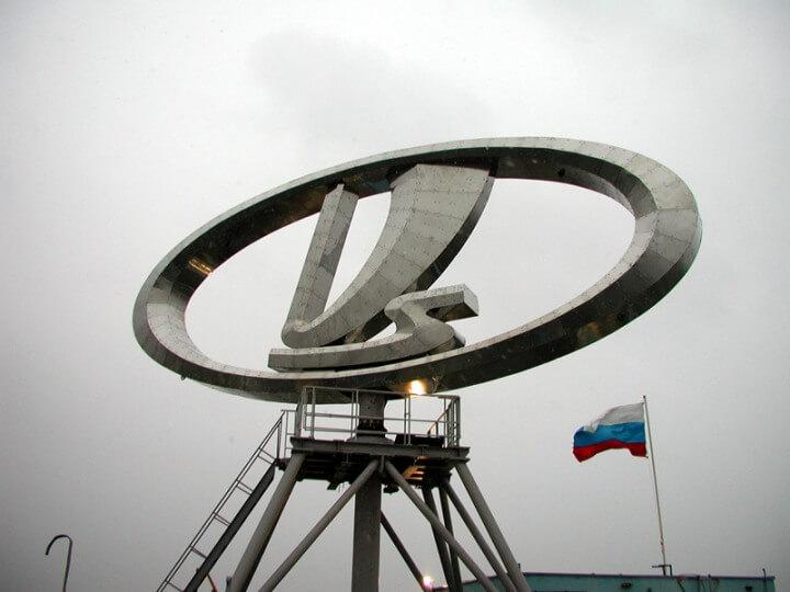 Эмблема Волжского автозавода. Автомобили Лада Калина 2. Новости, описание, видео.