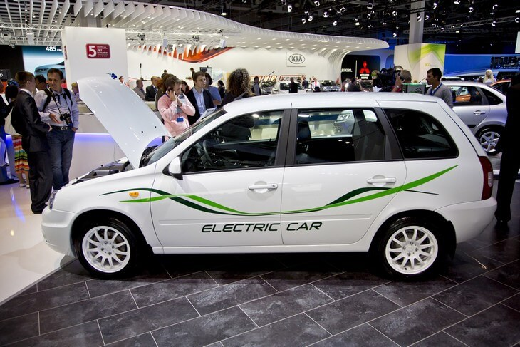 Универсал EL Lada на Московском автосалоне 2012. Автомобили Лада Калина 2. Новости, описание, видео.