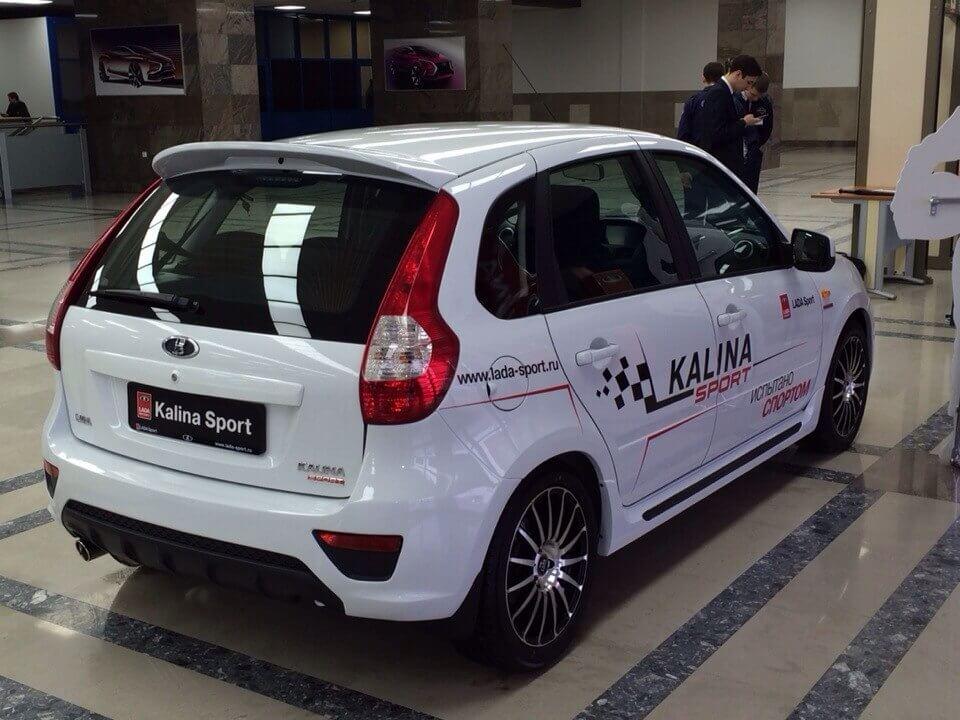 Лада Калина Спорт второго поколения, 2014 год. Автомобили Лада Калина 2. Новости, описание, видео.