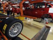 Сборочные цеха, основной конвейер АвтоВАЗа. Автомобили Лада Калина 2. Новости, описание, видео.