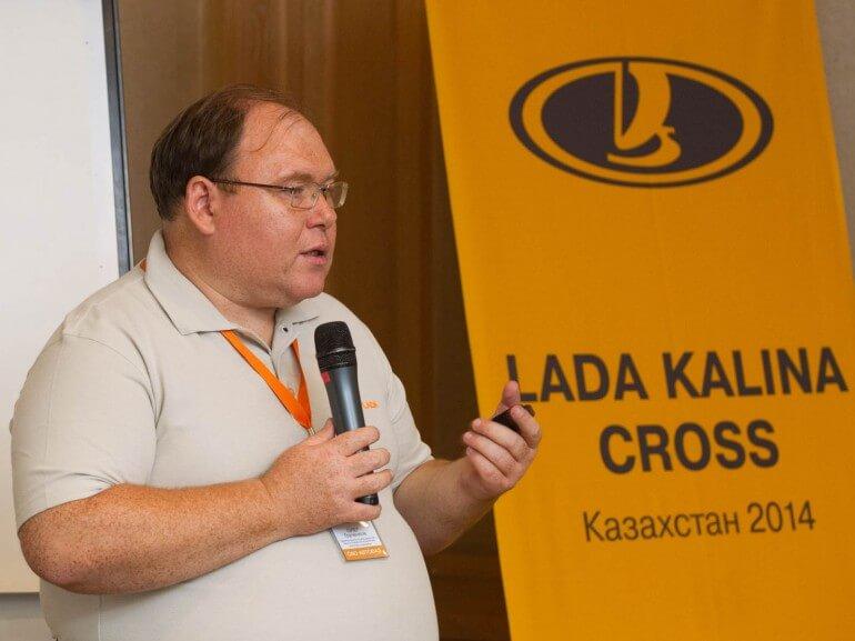 Олег Груненков, возглавляющий проект Калина-2. Автомобили Лада Калина 2. Новости, описание, видео.