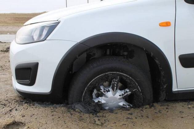 Кроссовер Калина Кросс и песок. Автомобили Лада Калина 2. Новости, описание, видео.<span id=
