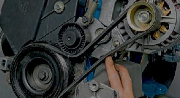 Замена ремня генератора калина своими руками