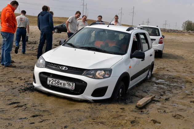 Внедорожная версия Лады Калины, тест-драйв в Казахстане. Автомобили Лада Калина 2. Новости, описание, видео.