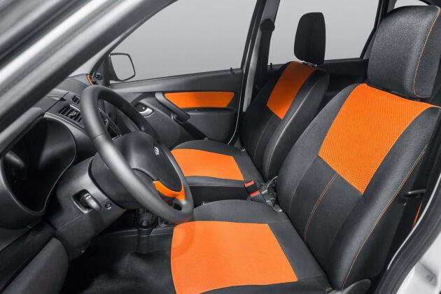 Передние сиденья в Калине Кросс. Автомобили Лада Калина 2. Новости, описание, видео.