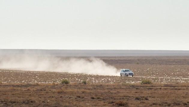 Новинка АвтоВАЗа покоряет бескрайнюю степь Казахстана на скорости 80 км/ч. Автомобили Лада Калина 2. Новости, описание, видео.