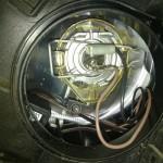 Проверка и регулировка фары, замена лампы ближнего света на Ладе Калине-2