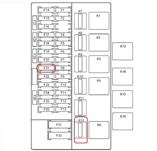 Монтажный блок ВАЗ-2192/94