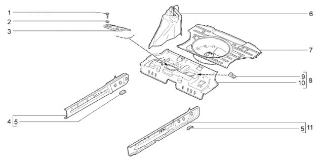 Скриншот каталога деталей ВАЗ-2192/94
