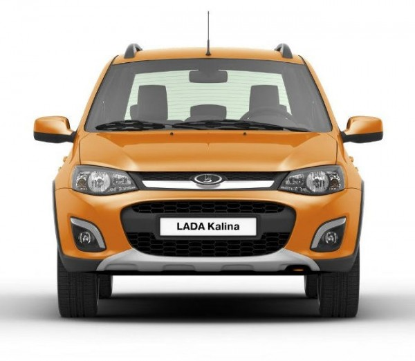 LADA Kalina Cross, цвет Апельсин