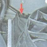 Демонтаж вентилятора, шаг 2