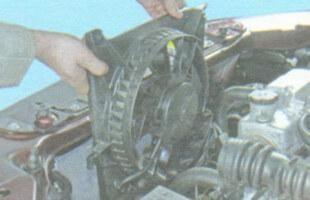 Демонтаж вентилятора, шаг 4