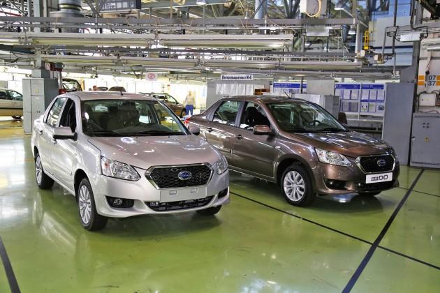 Легковые автомобили Datsun, выпускаемые на конвейерах АвтоВАЗа