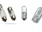 Лампы типоразмеров C10W (C5W), T4W, W5W