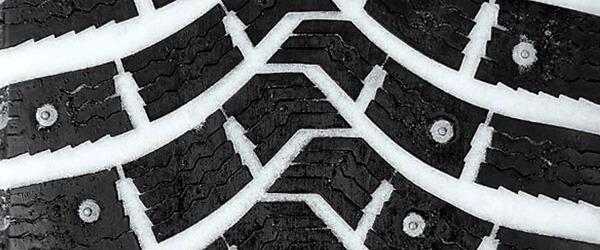 Структура протектора шипованных шин