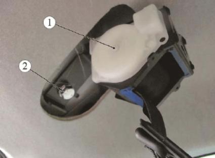 Демонтаж ремней безопасности задних, ВАЗ-2194