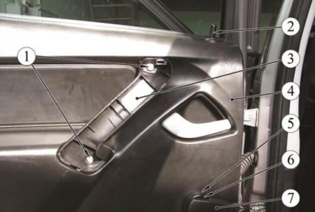 Задняя дверь ВАЗ-2192