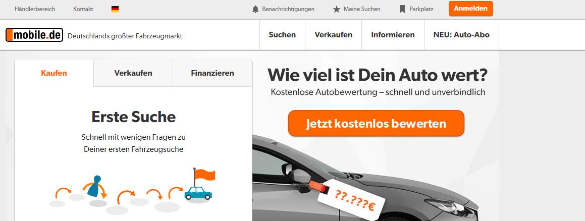 Немецкие сайты с объявлениями